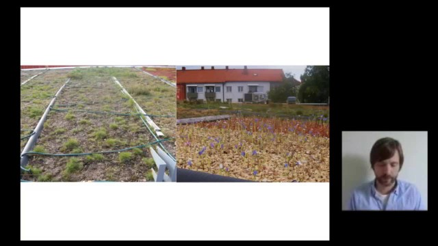 Development of Different Types of Green Roofs & Green Walls for Improved Urban Biodiversity…