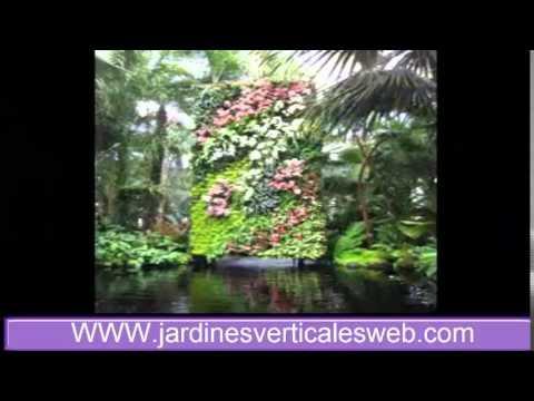 Modelos de jardines verticales caseros de interior y exterior