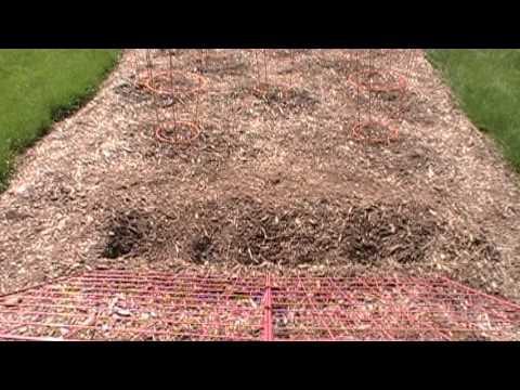Back to Eden garden, gardening method part 1, 5-20-13