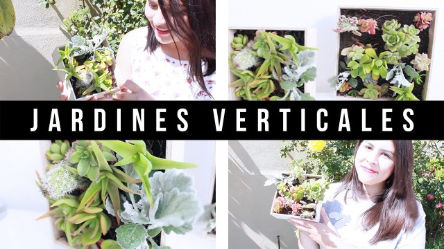 Jardines Verticales de Suculentas