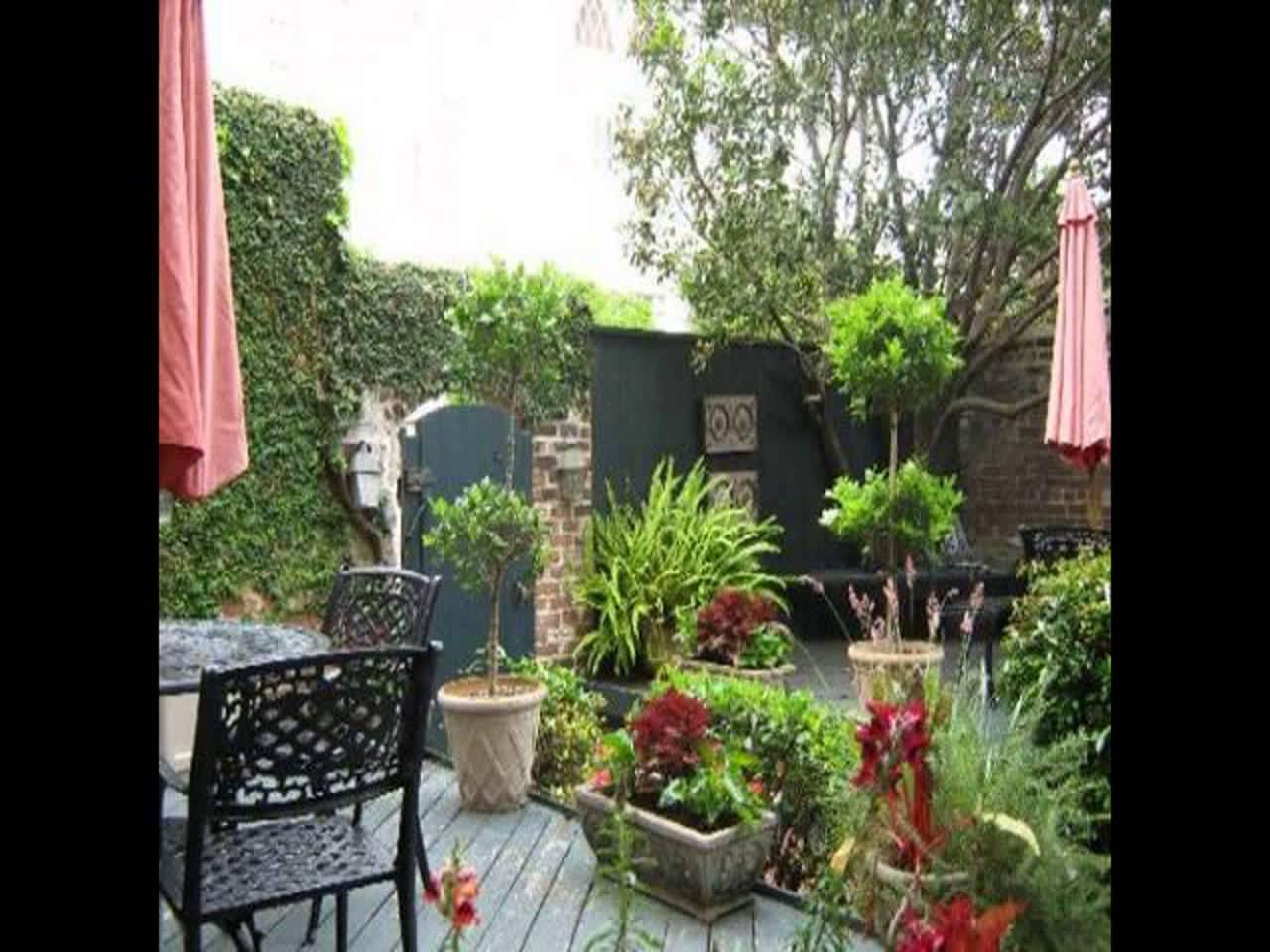 Dise o de jardines peque os gardening video forum for Jardines pequenos esquineros