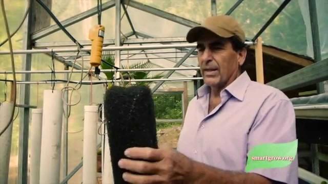 Foam or Fiber for Vertical Grow Towers