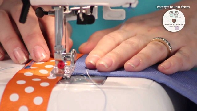 Summer Crafts for Kids – How to Make a Garden Apron – Beginner Sewing Project