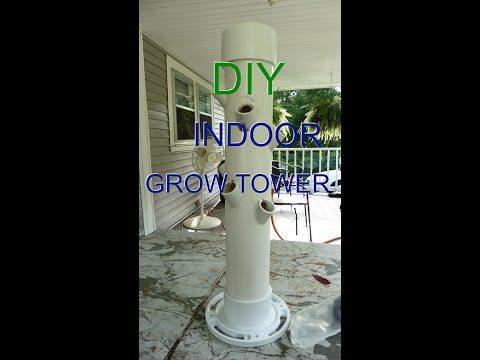 Grow Tower Mini version Part 1