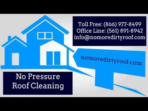 Clean Roof with Eco Roof Wash – No Mildew, No Harmful Chemicals