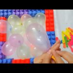 Balloon Garden for kids, funny toy movies