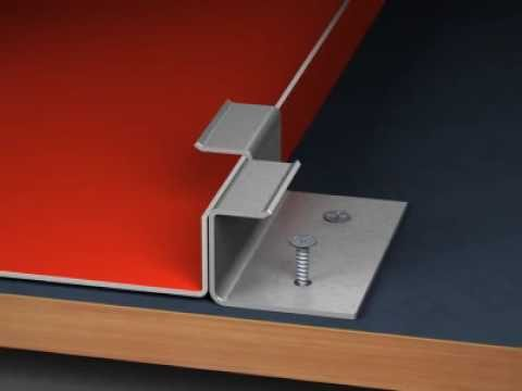 Metal Roofing – How to install Snap-On Standing Seam Panel
