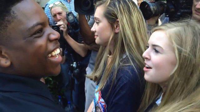 16-Year-Old Black Trump Supporter Schools Black Lives Matter Moron in Epic Debate