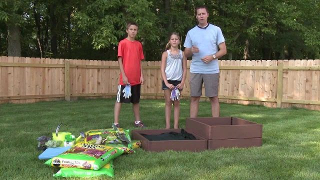 Plant a Back To School Vegetable Garden this Fall with the Kids!