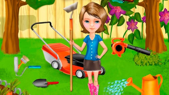 Learning  Gardening and Care – Game for Girls