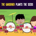 The Gardener Plants the Seeds Song for Kids | Gardening Songs for Children | The Kiboomers