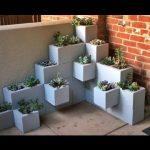 Cinder Blocks and Succulents