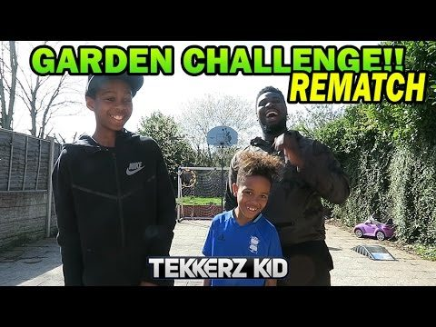 EPIC GARDEN CHALLENGES VS BRO & THE DAD   THE REMATCH!!