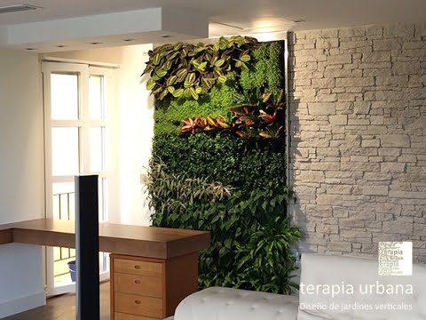 Jardín vertical en Sevilla: vivienda privada
