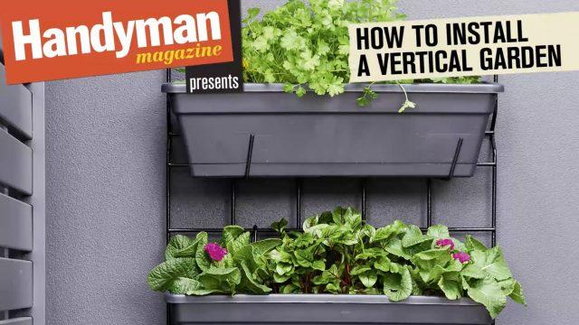 How To Install A Vertical Garden