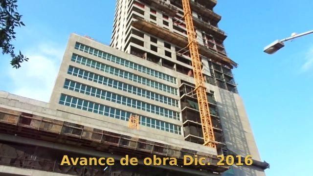 Hilton Garden Tower Neuquén – Avance de obra Diciembre 2016