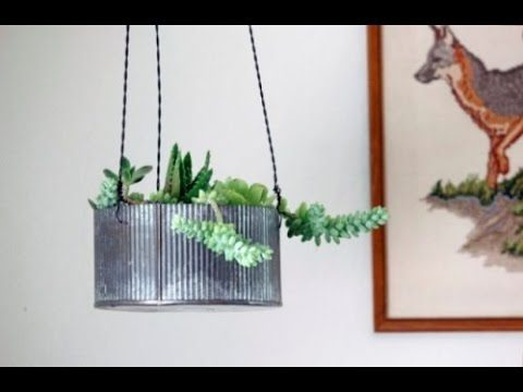 24 Cool DIY Hanging Planters For Indoors And Outdoors