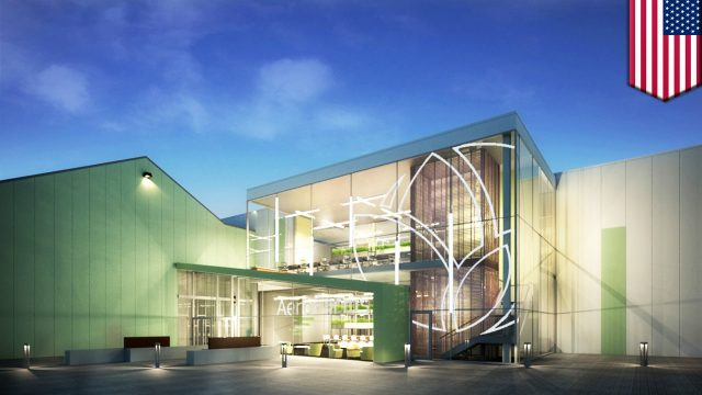 World's largest indoor vertical farm uses 95 percent less water and produces more food