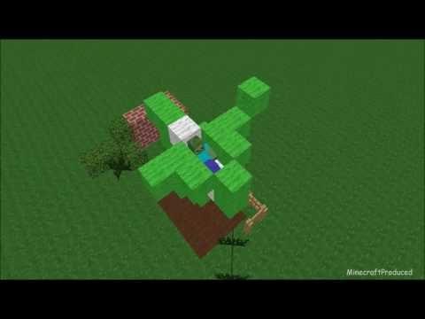 Monster School Gardening Minecraft Animation