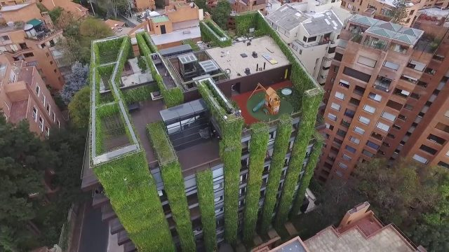 Jardín vertical más grande del mundo con 85.000 plantas / World's Largest Vertical Garden