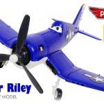 PLANES FOR KIDS VIDEO: Skipper Riley Model Kit Zvezda from Disney Cartoon Toys Review