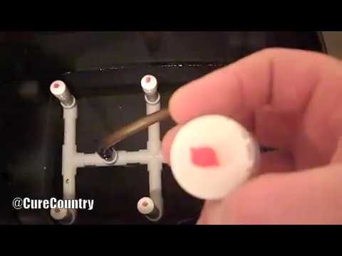 Low Pressure Aeroponics System Pt  1