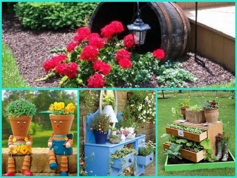 Diy Garden Decor  – 35 Cheap and Easy ideas