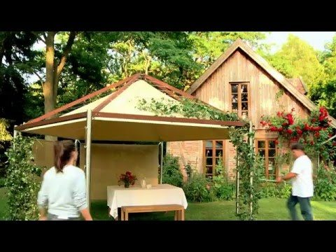 GreenHouseSytem / Qualitäts Pavillon mit grünem Blätterdach
