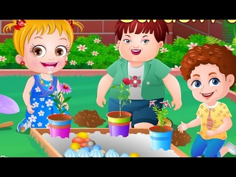 Baby Hazel Garden Party – Game Movie For Kids Children / In English