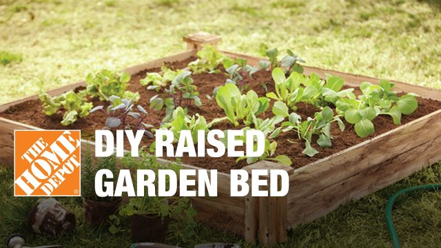 DIY Raised Garden Bed – Small Garden Ideas