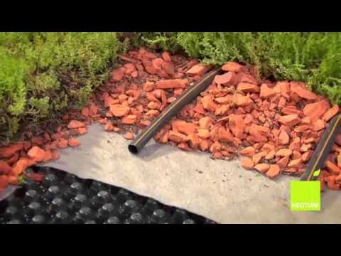 Cobertura / telhado verde: instalar / instalação Green roof DIY Instalation — NEOTURF
