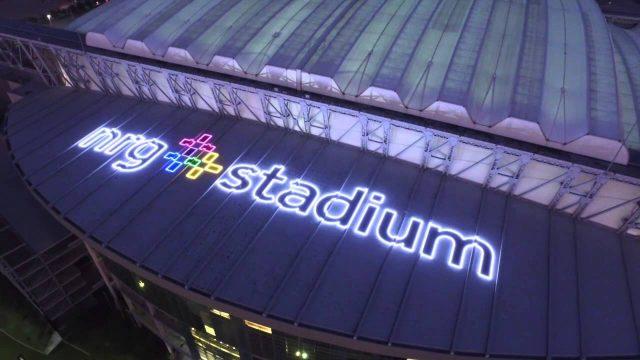 Houston Sign Company National Signs – Houston, Texas – NRG Stadium – Roof Signage