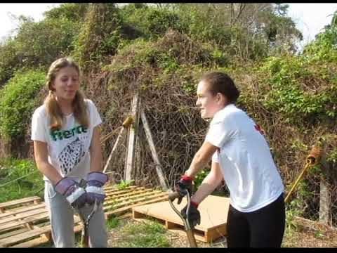 Service Learning Week – Gardening Day 1
