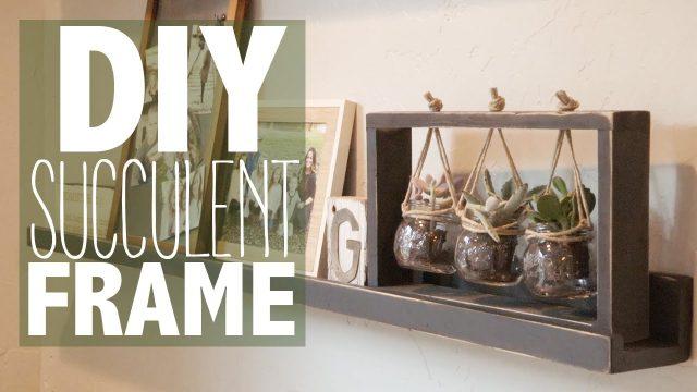 DIY Succulent Frame (Under $10!) | Shanty2Chic