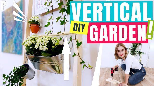 VERTICAL GARDEN DIY – drinnen mehr Platz für Blumen schaffen!  – dieFrickelbude (PP)