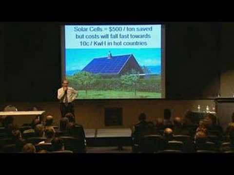 Green Roofs – save energy – global warming action, innovation, carbon reduction – energy speaker