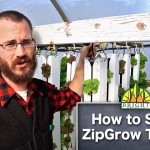 Spacing ZipGrow Vertical Farming Towers