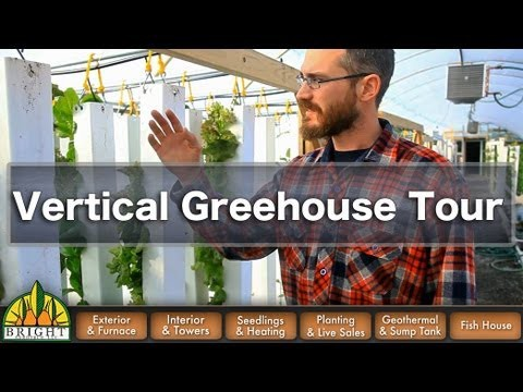Bright Agrotech Vertical Farm Tour