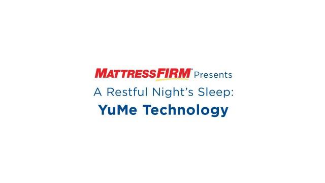 """MATTRESS FIRM: """"A Restful Night's Sleep Series"""" – YuMe Technology"""