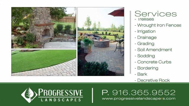Progressive Landscapes Folsom Landscape Designer Commercial