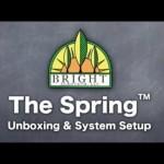 Spring Home Vertical Gardening Tower – Setup