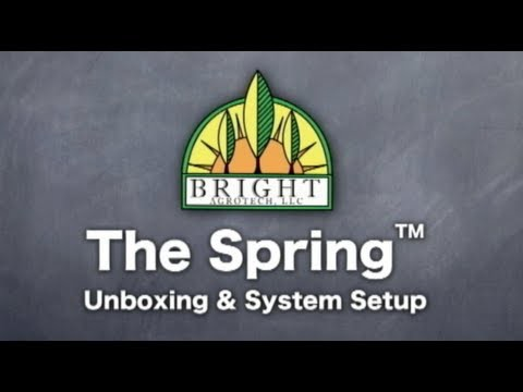 Spring Home Vertical Gardening Tower – Setup