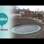 Gardening with Children: Sunken Trampolines with Dawn Isaac, Ava, Oscar and Archie Milne