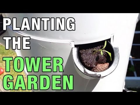 """Tower Garden Planting"" by Epic Gardening"