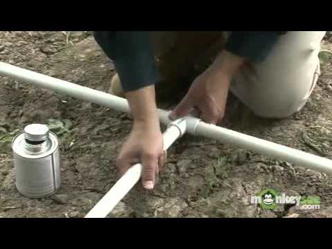 Building a Greenhouse – Constructing the PVC Frame