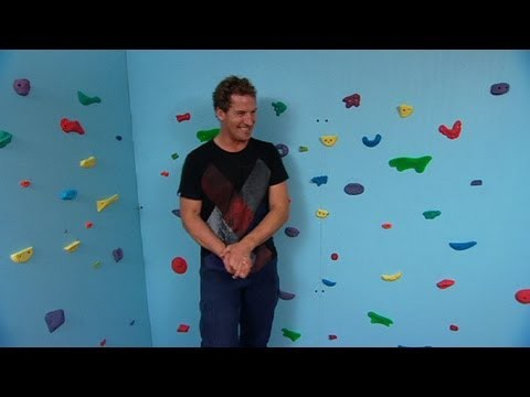 Better Homes and Gardens – DIY kids' corner: climbing wall