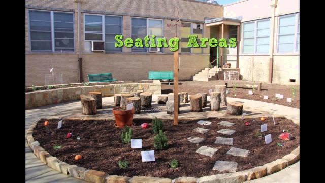 Tour a REAL school garden