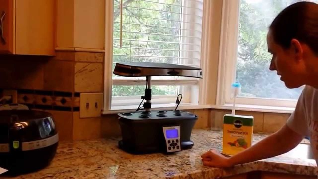 Aerogarden Ultra LED unboxing and herb garden setup by a new user. July 2014.