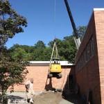 ECHS Courtyard – Machinery Soaring!