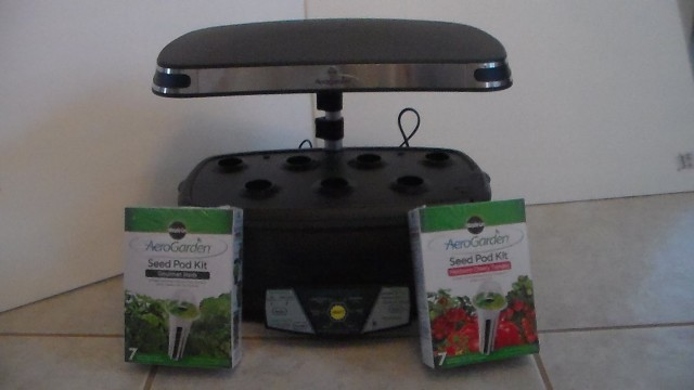I finally get to open my Miracle Gro Aerogarden Indoor Garden and Seed Starting Kit!